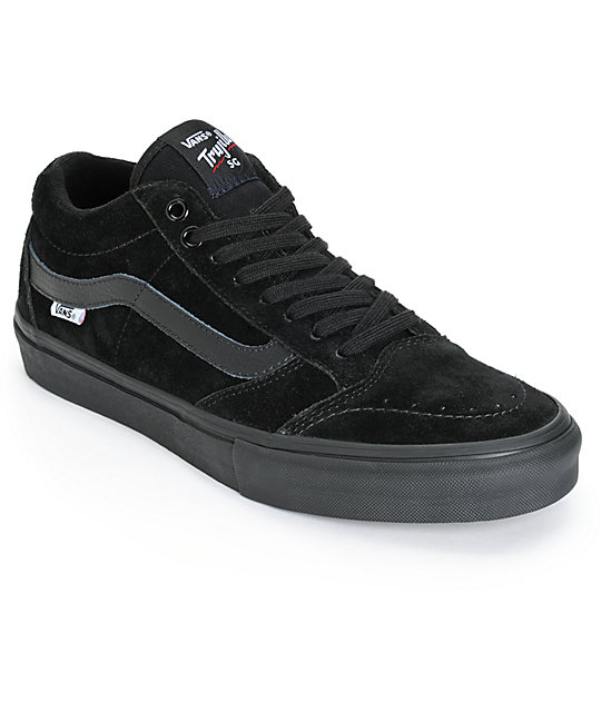 vans tnt sg blackout skate shoes