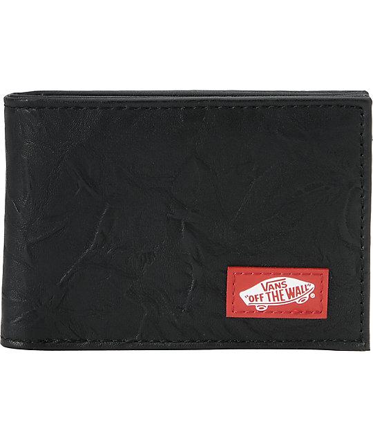 Vans Taper Black Bifold Wallet