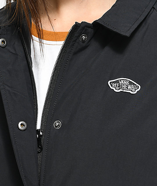 Vans Thanks Coach Black Long MTE Jacket