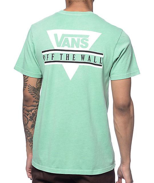 Vans Triangle 2 Mint T-Shirt
