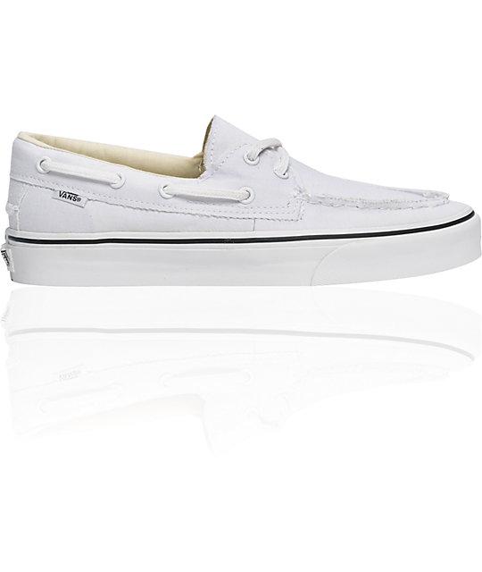 Vans True White Zapato Del Barco Skate Shoes