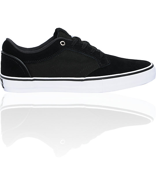 Vans Type II Black & White Skate Shoes