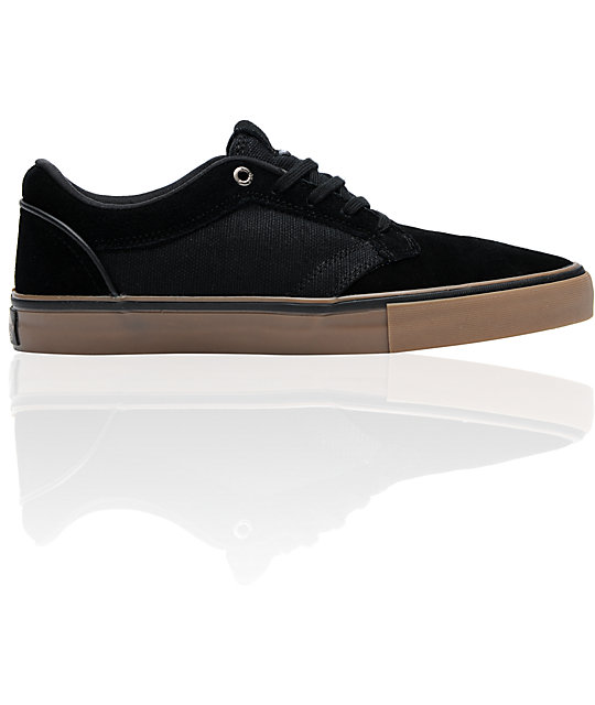 Vans Type II Black Hemp & Gum Skate Shoes (Mens)