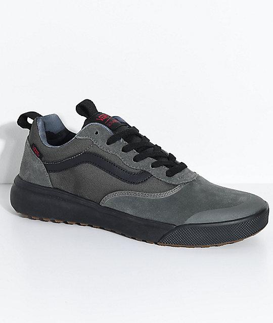 vans shoes black and grey. vans ultrarange florence grey \u0026 black shoes and