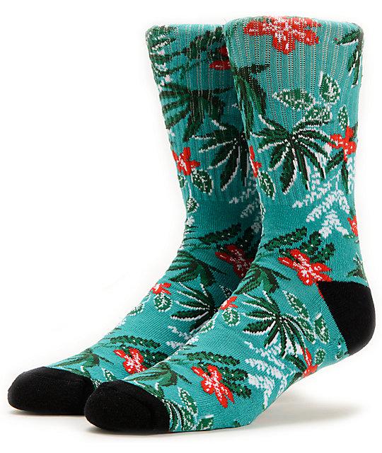 Vans Van Doren Floral Baltic Crew Socks