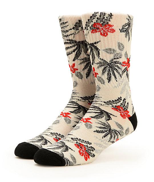 Vans Van Doren Floral Crew Socks