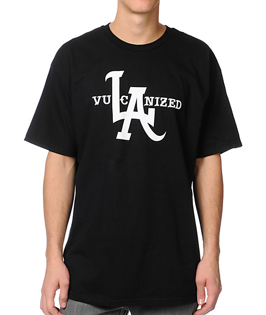 Vans Vulcanized Black T-Shirt