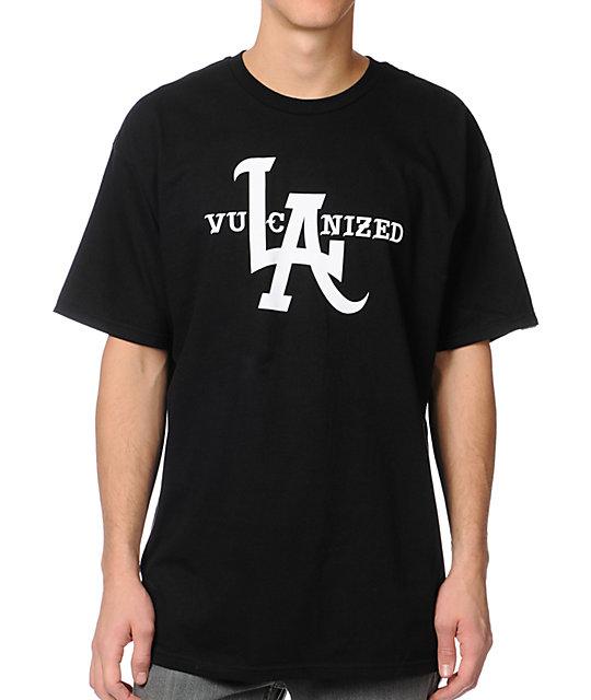 Vans Vulcanized Black T-Shirt