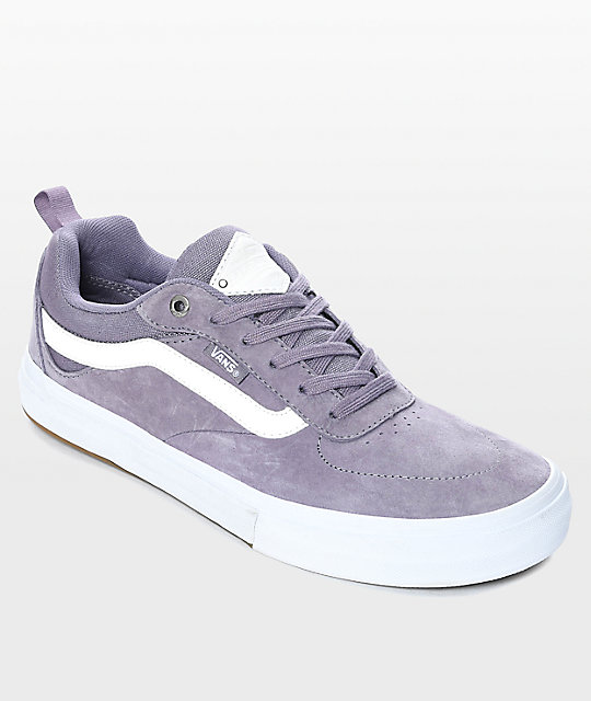 Vans Walker Pro Purple Dawn Skate Shoes