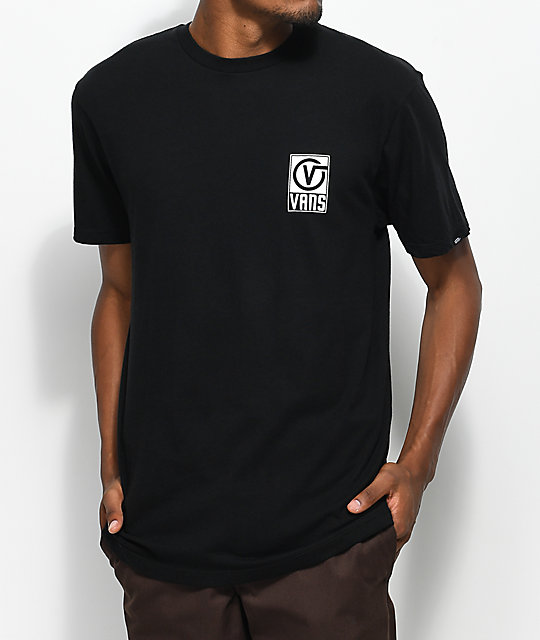 Vans Worldwide Black T-Shirt | Zumiez