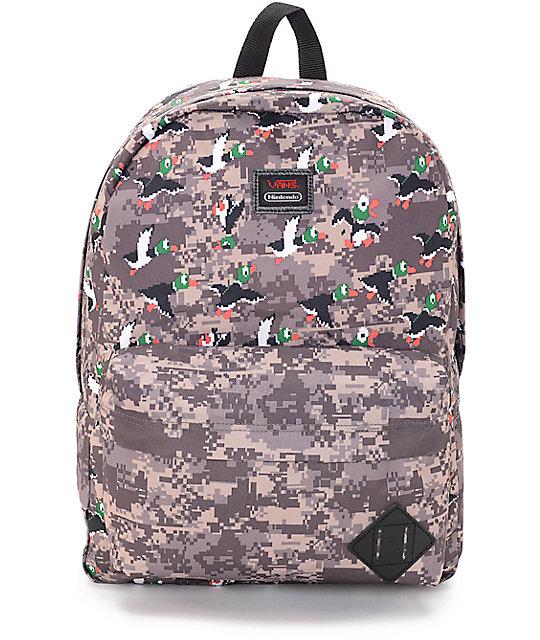 Vans X Nintendo Old Skool II Duck Hunt 22L Backpack