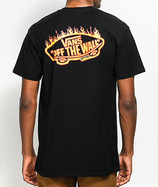 t-shirt vans trasher