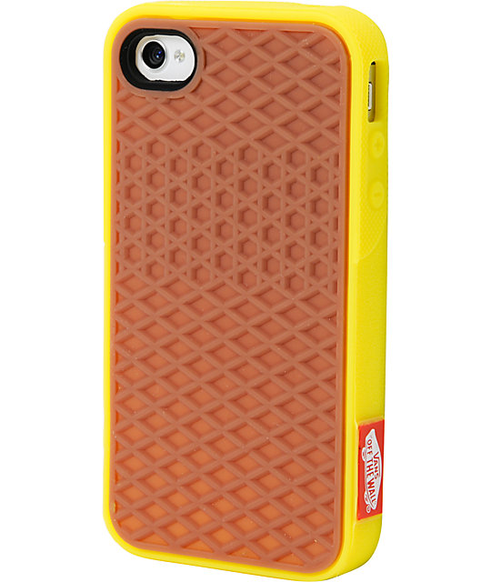 Vans Yellow Iphone 4 Case