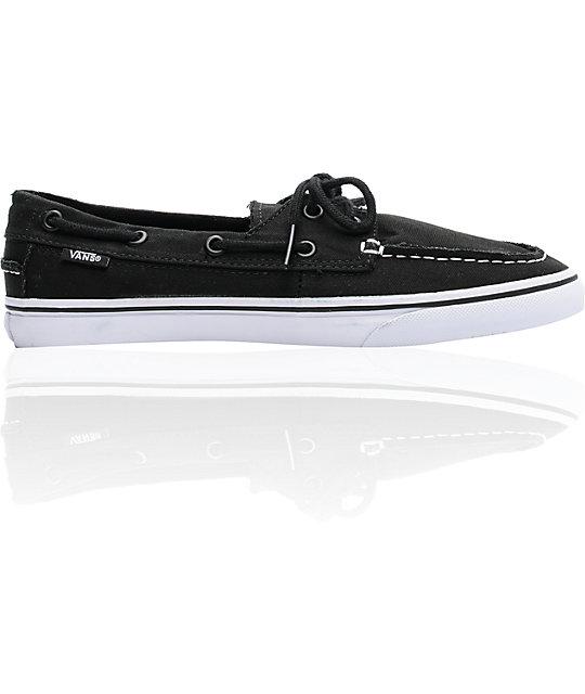 Vans Zapato Lo Pro Black & White Skate Shoess