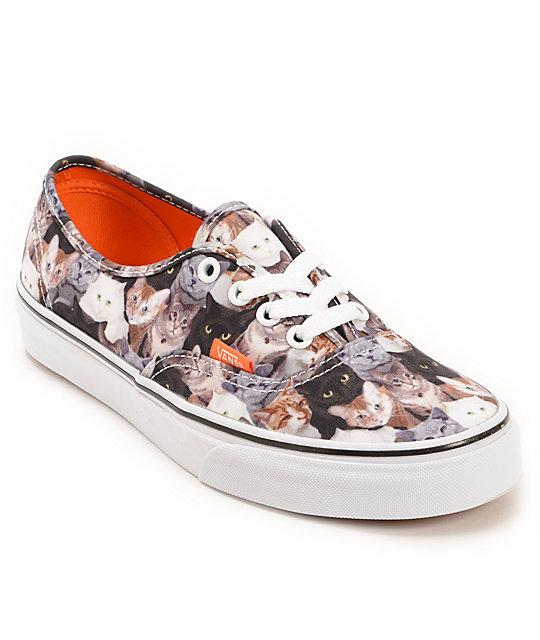 Vans x ASPCA Authentic Cats Shoe at Zumiez   PDP 1e6d0eff63