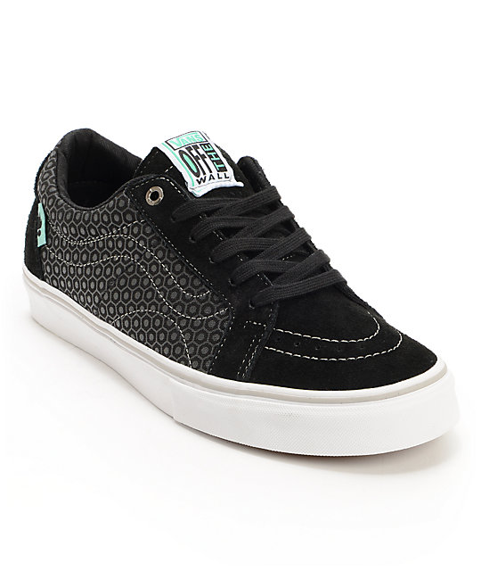Vans x Alien Workshop AV Native American Low Black Skate Shoes