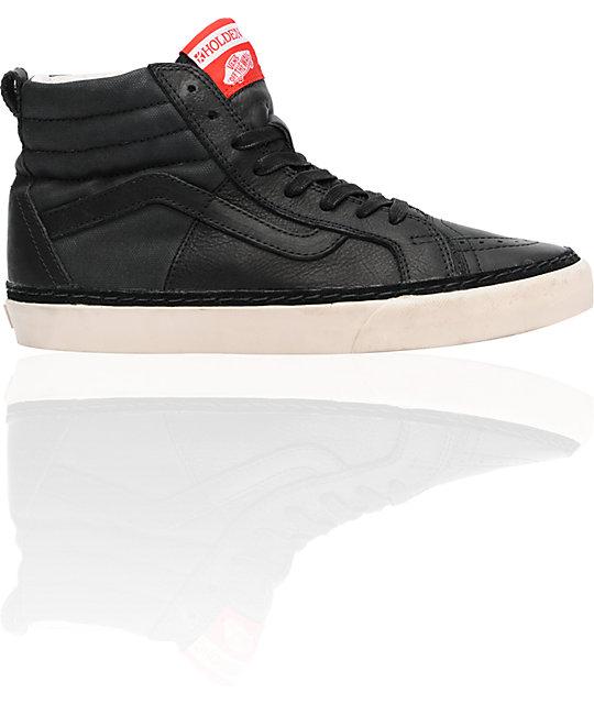 Vans x Holden Sk8-Hi Black Skate Shoes
