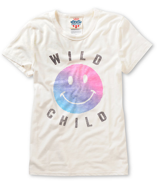 Vans x Junk Food Wild White T-Shirt