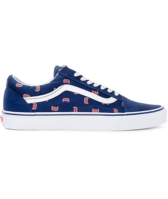 Boston Red Sox Vans Shoes