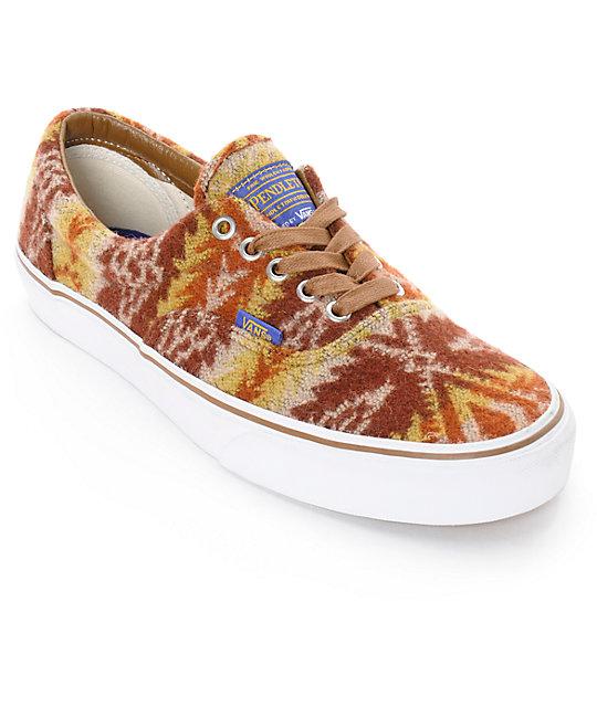 Vans x Pendleton Era Tribal Skate Shoes