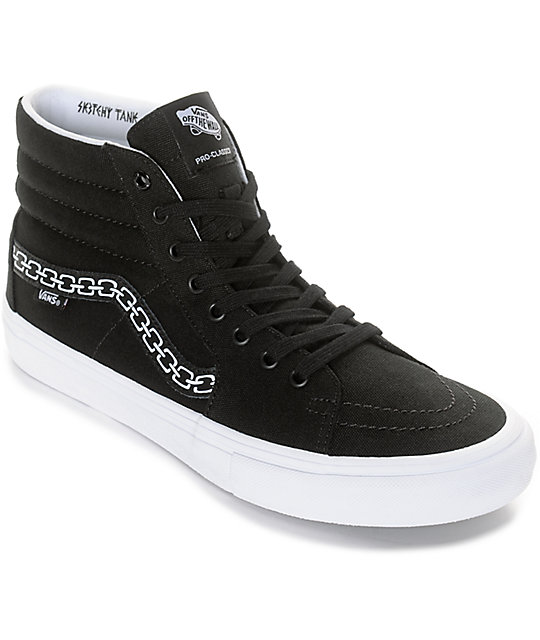 Vans x Sketchy Tank Sk8-Hi Pro Skate Shoes at Zumiez : PDP