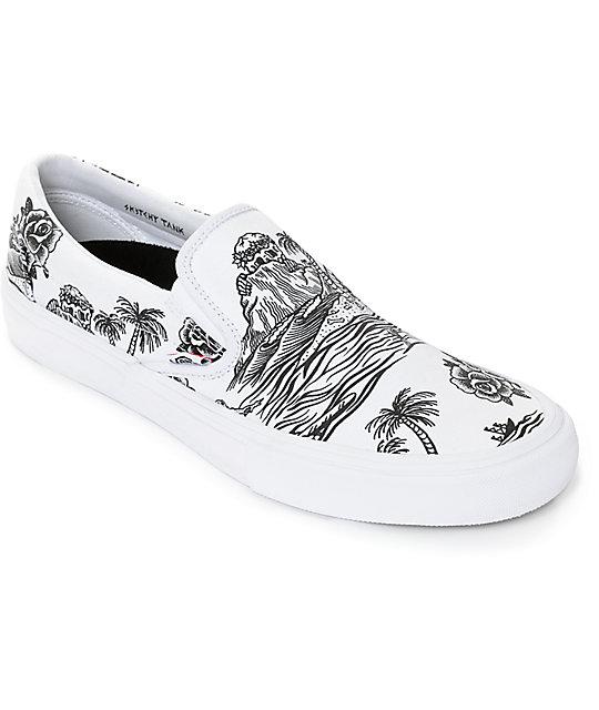 Vans x Sketchy Tank Slip-On Pro Skate Shoes at Zumiez : PDP