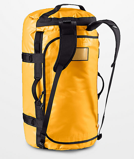 Vans X The North Face Base Camp Yellow 50l Duffel Bag Zumiez