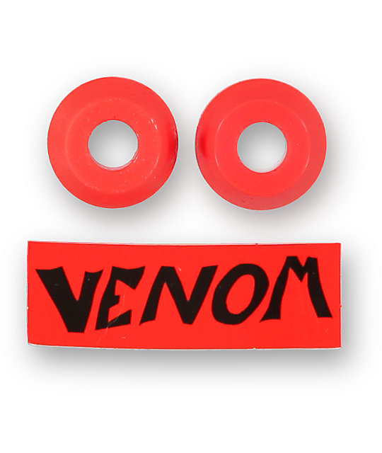 Venom 90a Supercarve Red Skateboard Bushings