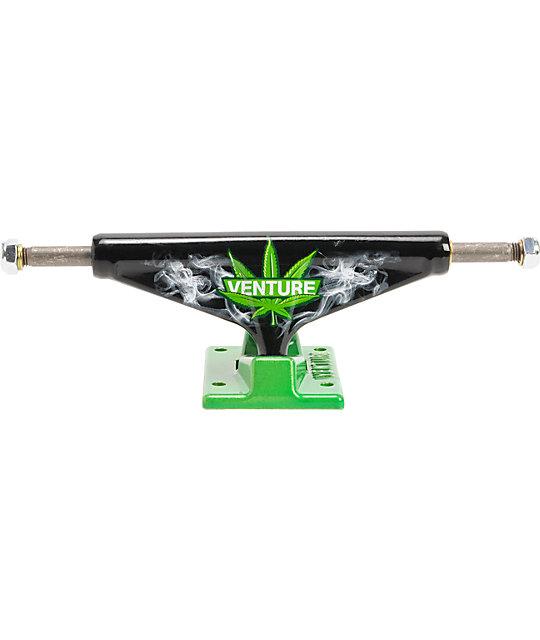 weed skateboard trucks