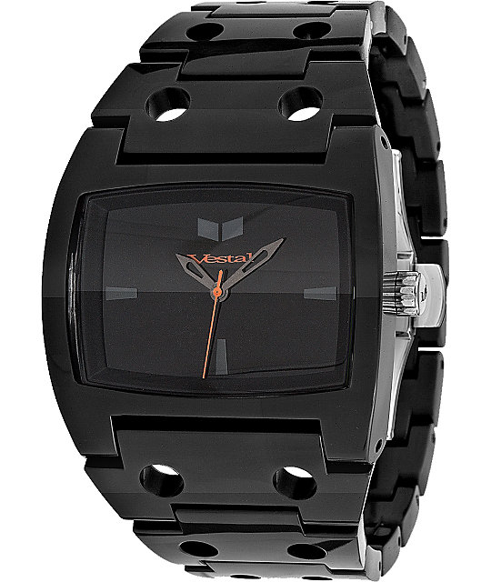 Vestal Destroyer Plastic Black Watch