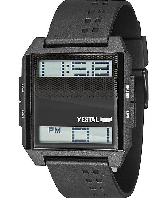 Vestal Digichord Black Digital Watch