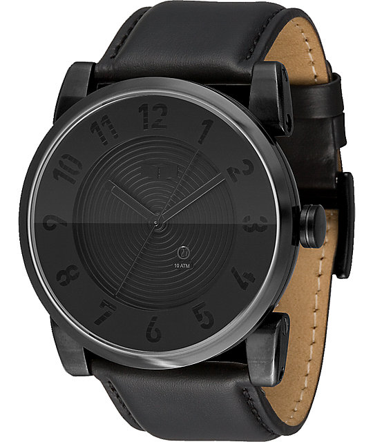 Vestal Doppler Matte Black Watch