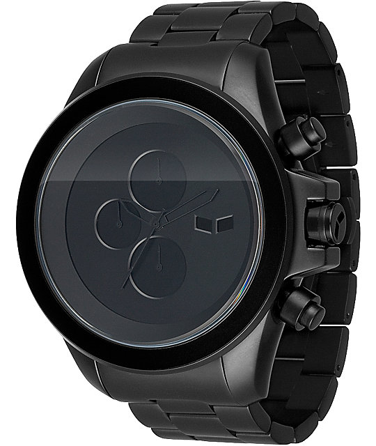 Vestal ZR-3 Minimalist Matte Black Analog Watch