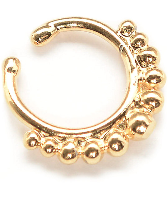 VidaKush Nefertiti Gold Faux Septum Ring