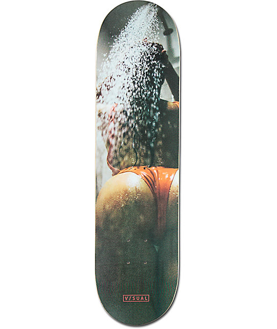 "Visual Shower 8.0"" Skateboard Deck"