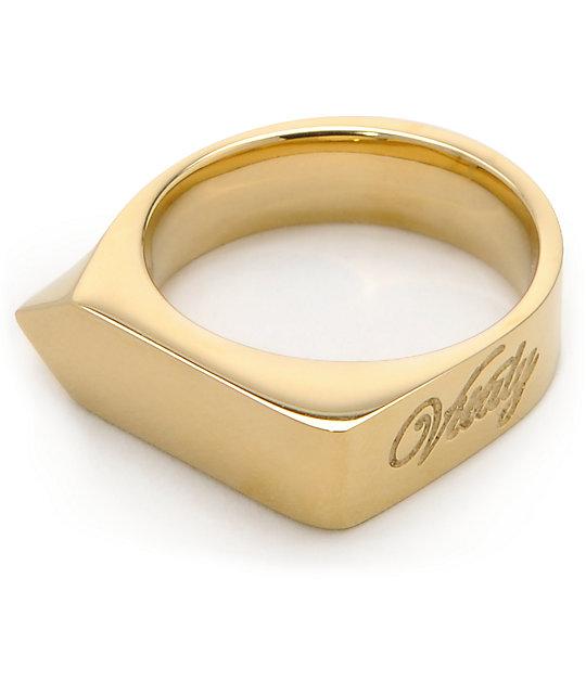 vitaly odak x gold ring zumiez