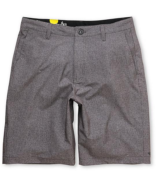 Volcom 4Way Stretch Frickin 22 Brown Hybrid Shorts