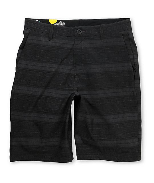 Volcom 4Way Stretch Frickin 22 Grey Hybrid Shorts