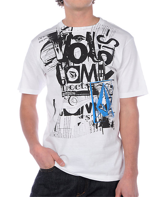 Volcom An Empire White T-Shirt