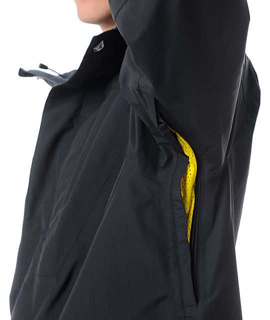 Volcom Atlantic Storm Black GORE-TEX Snowboard Jacket