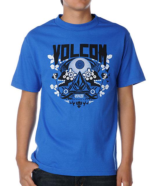 Volcom Babylon Crest Royal T-Shirt