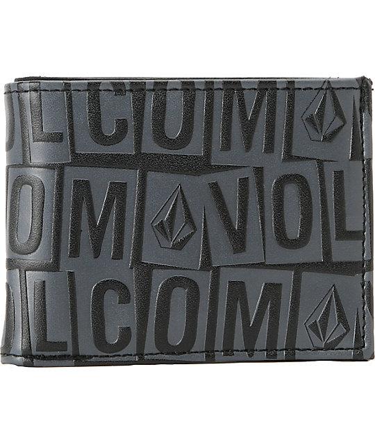 Volcom Bolder Bifold Black Wallet