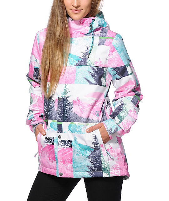 Volcom Bolt Landscape 8K Insulated Snowboard Jacket