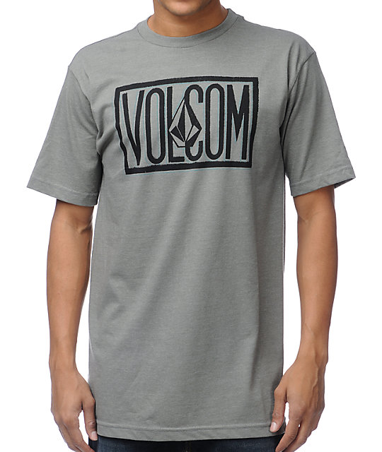 Volcom Boxed Heather Grey T-Shirt