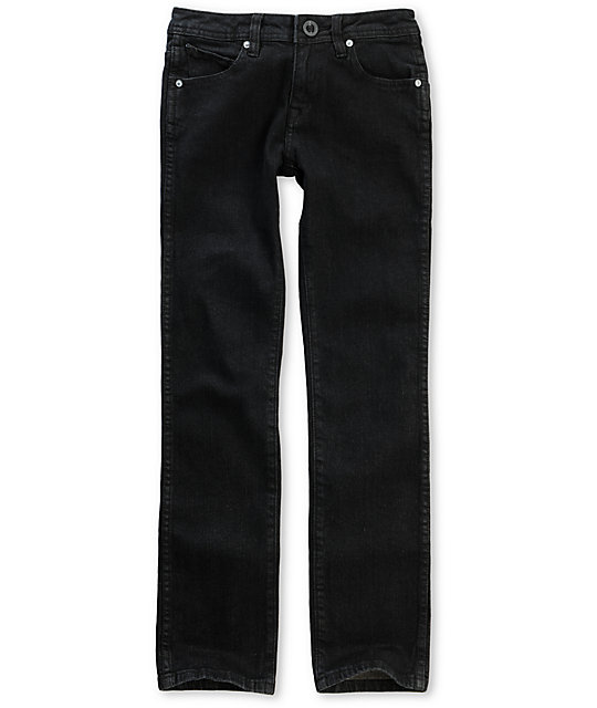 Volcom Boys 2x4 Black Jeans