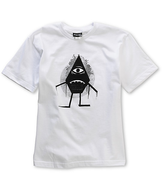 Volcom Boys Bah Stone White T-Shirt