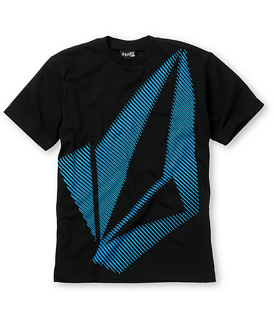 Volcom Boys Biggie Stone Black T-Shirt