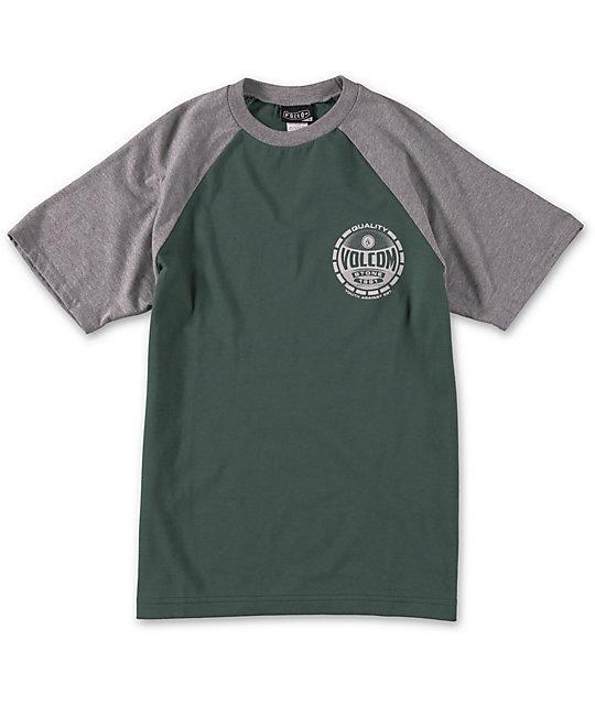 Volcom Boys Crowned Raglan T-Shirt