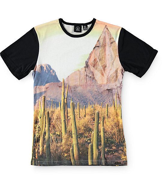 Volcom Boys Dajungle Sublimated T-Shirt
