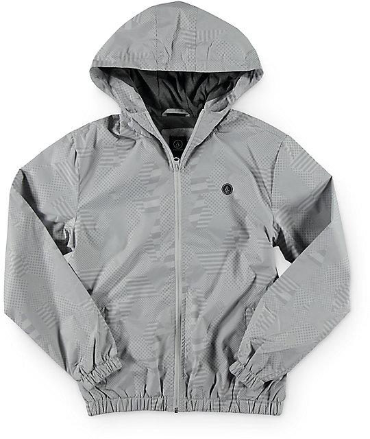 Volcom Boys Ermont Grey Jacket